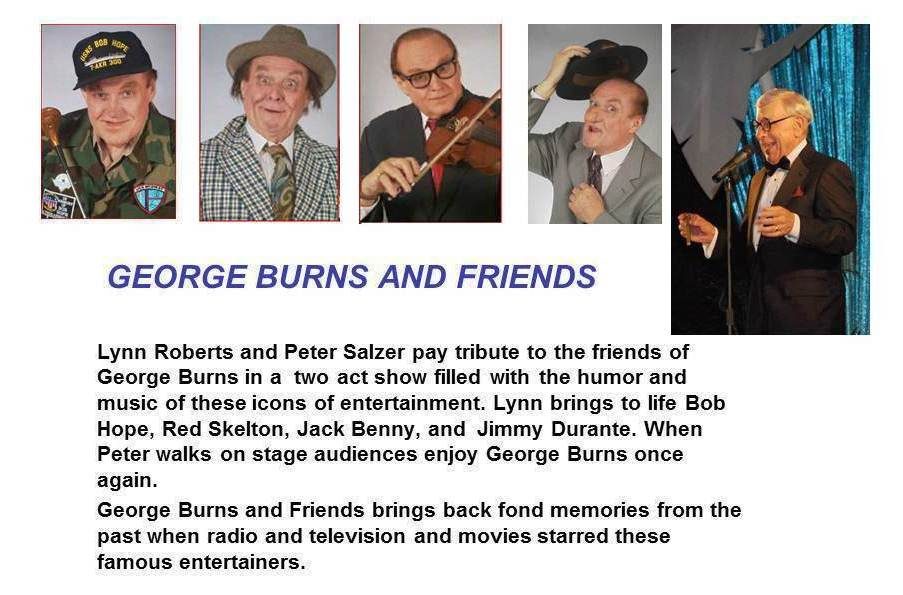 GEORGE BURNS AND FRIENDS JPEG